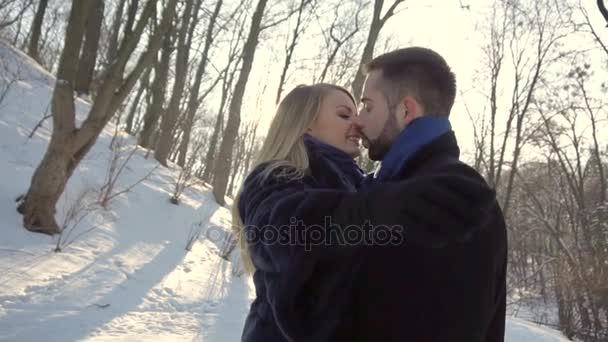 Liebe umarmt In Winter Park
