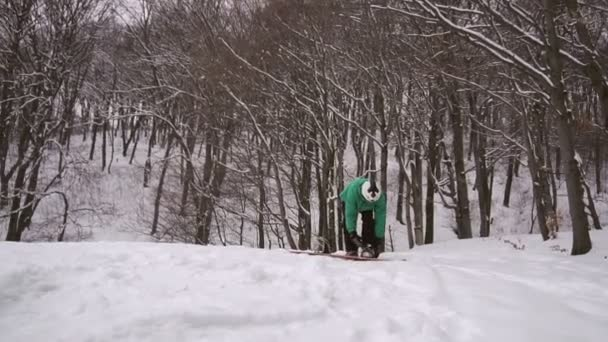 Snowboarder Set Board Equipment