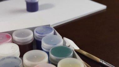 Gouache Ink Jars Opening