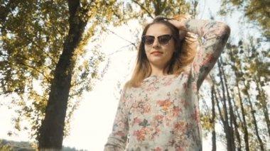 Portrait of Hipster Girl
