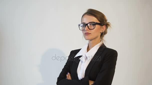 Attractive Businesswomans Portrait