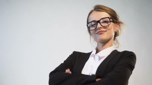 Ambiciózus Businesswomans portré