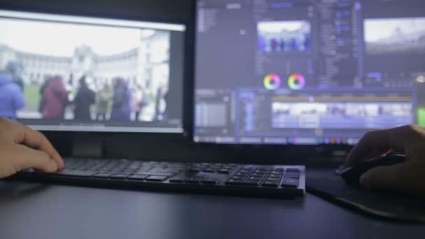 Video Editing Process Timelapse