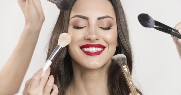 Woman Multi Brush Makeup