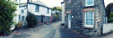 panorama of old village Port Isaac, Cornwall