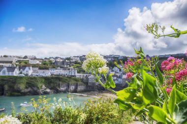 old village Port Isaac, Cornwall