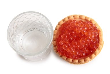 Vodka and caviar eight