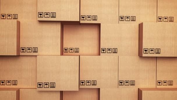 Kartonové krabice na skladu