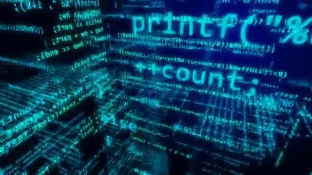 Zářící, programový kód