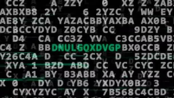 Kombinace kódu. Tajný kód