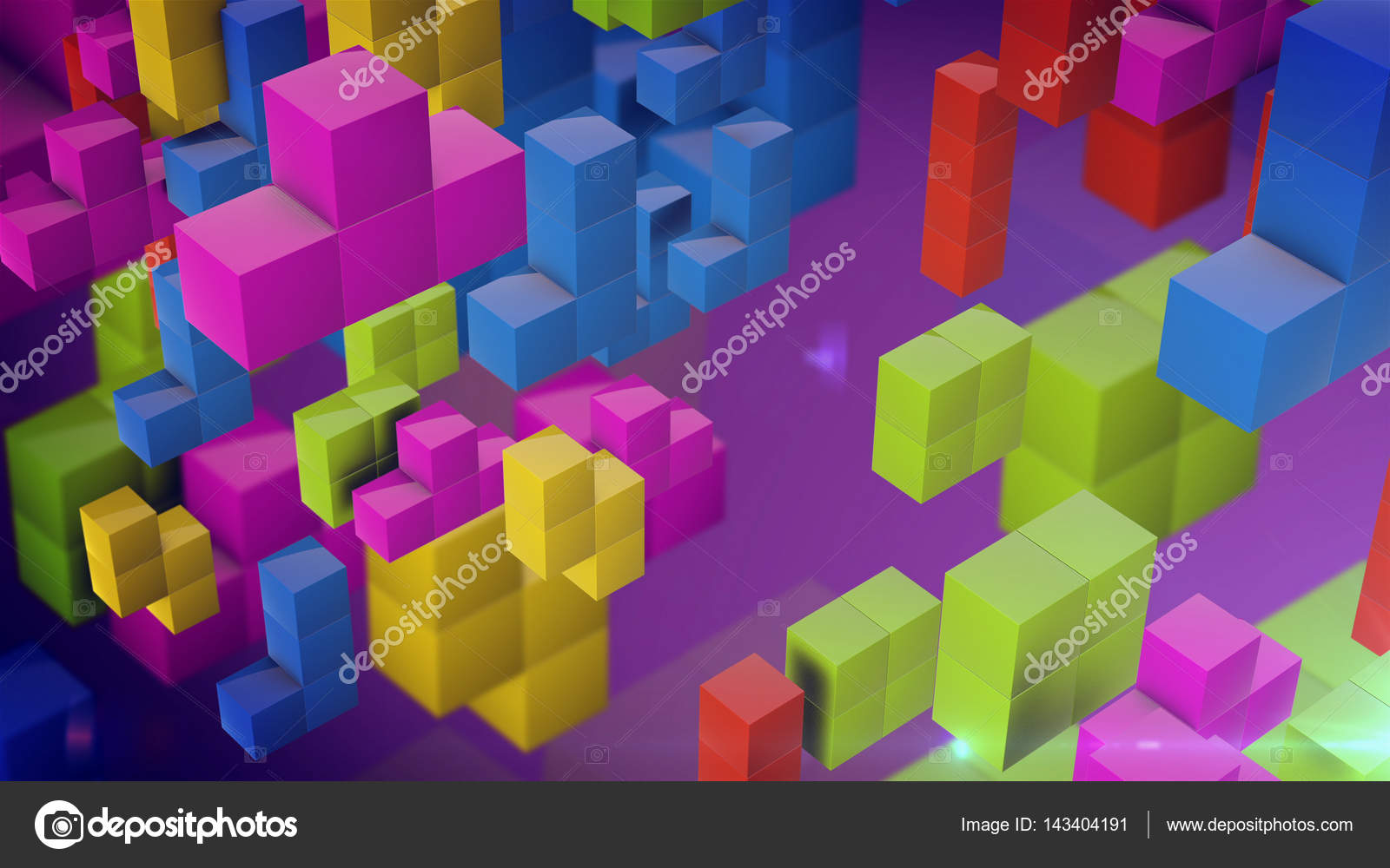 Tetris En Linea De Colores Antiguo Video Juego Tetris Cuadrados