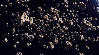 Asteroids in far off orbit