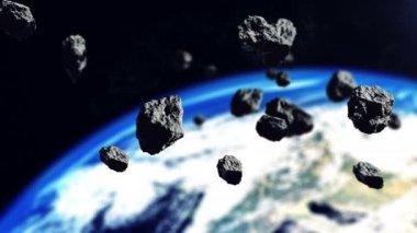 3D vykreslování asteroidů
