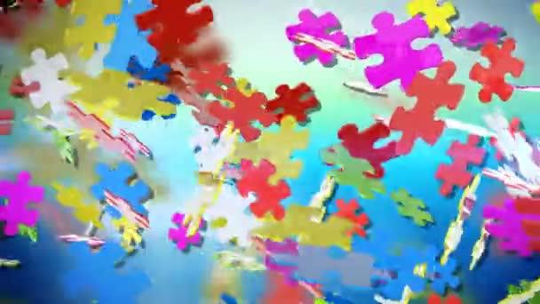 barevné dílky