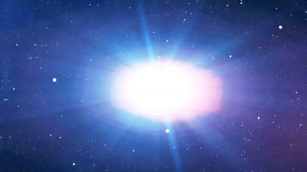 Výbuch hvězdy nebo planety
