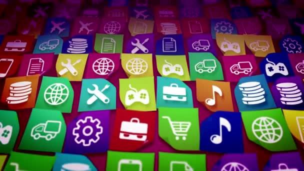 mobilní aplikace ikony