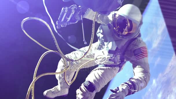 NASA Astronaut in outer space