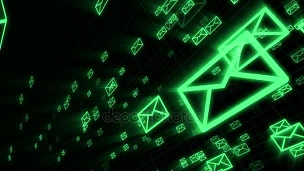 Ikony e-mailu a chatu