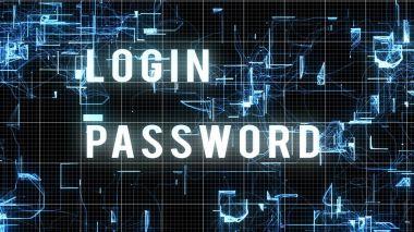 Digital Login Password Image