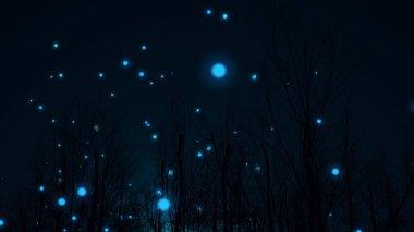 Ball Lightning in a Dark Forest