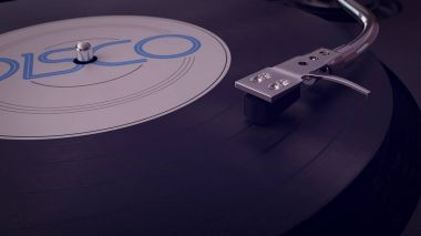 Retro Gramophone Record