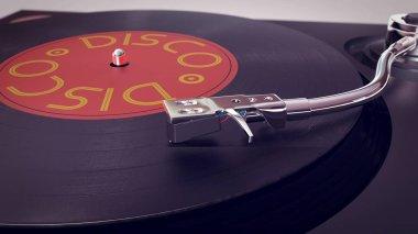Old-fashioned Vinyl Disco