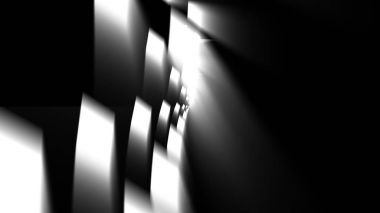 Tunnel Motion Effects with Blurred Maze