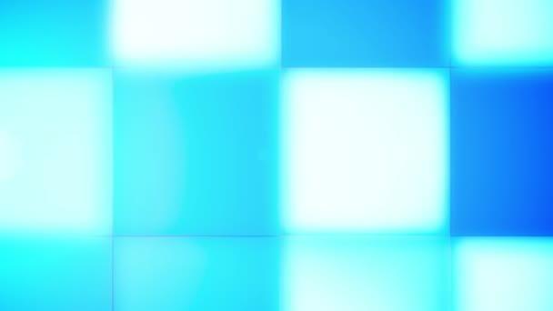 Blikání, modrá, zelená, bílá Led lampy