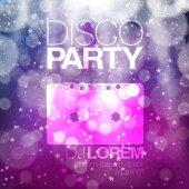 Disco plakát nebo leták design