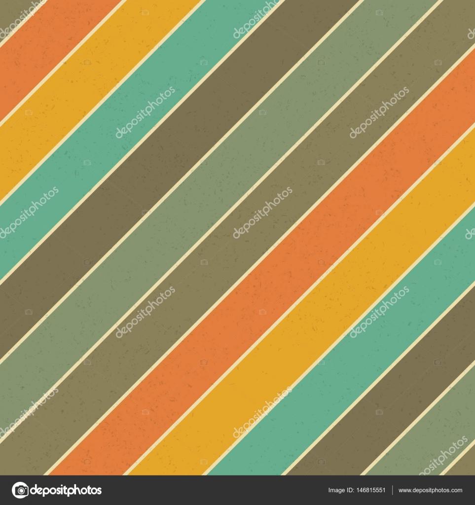 Retro Farben.Retro Farben Diagonallinien Textur Stockvektor Pashabo