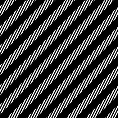 black and white diagonal lines