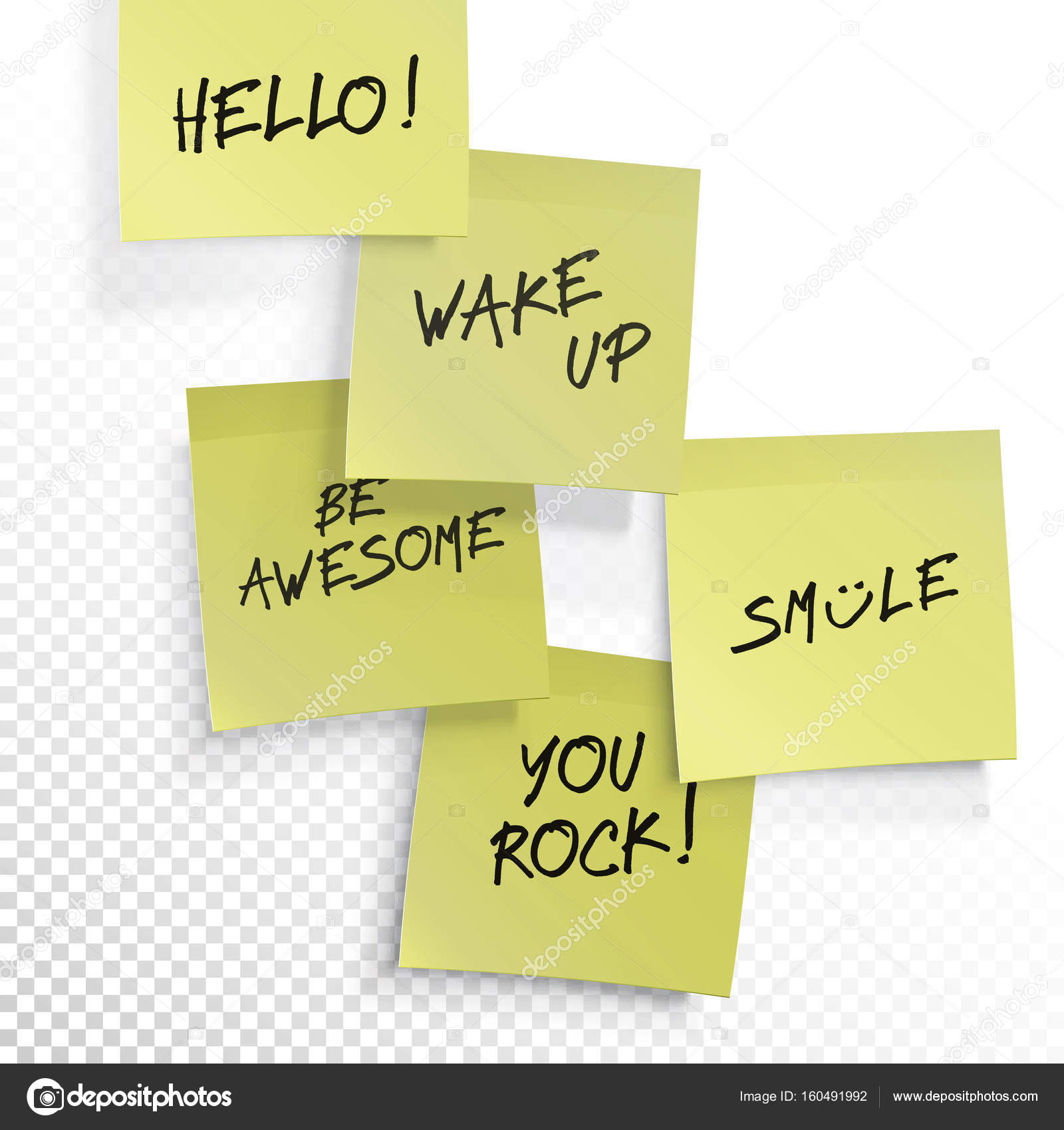 This is a photo of Editable Post It Note Template with regard to powerpoint background