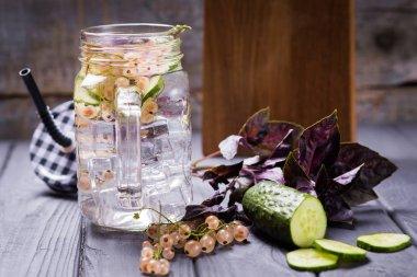 Detox refreshing drink
