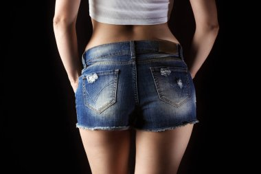 Woman's fitness body