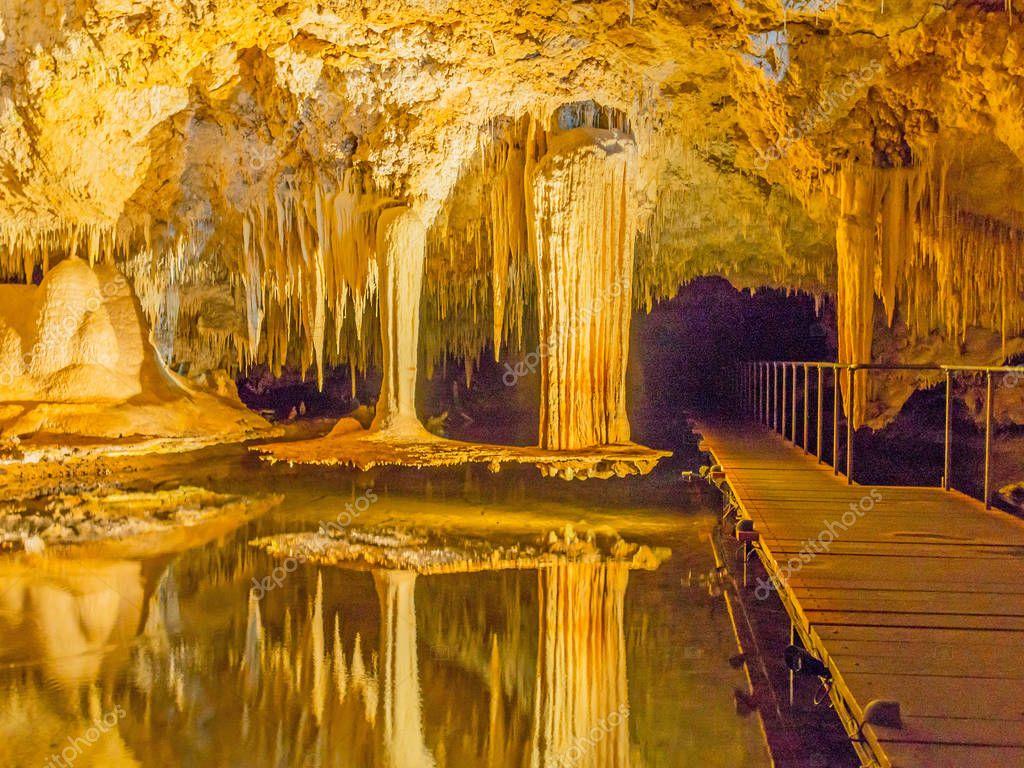 Lake Cave Interior