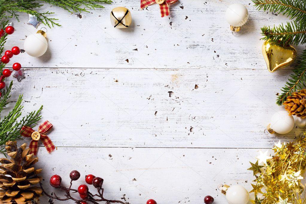 Christmas Holiday Background Photograph By Anna Om: Christmas Wakacje Tło Z świąt Bożego Narodzenia Ornament O