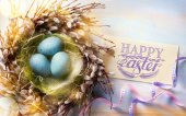 art Happy Easter background