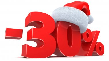 Christmas sale 30 percent