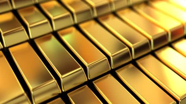 csillogó arany tégla