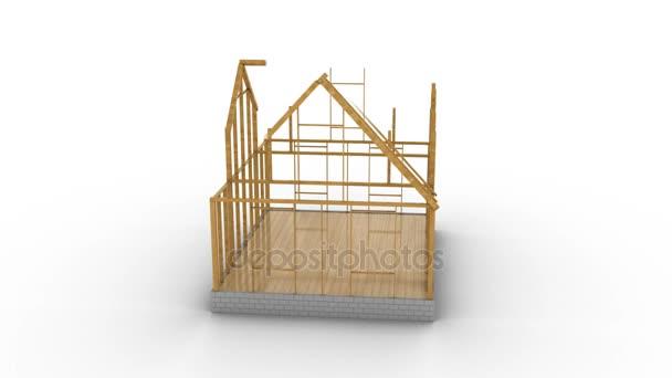 frame house construction