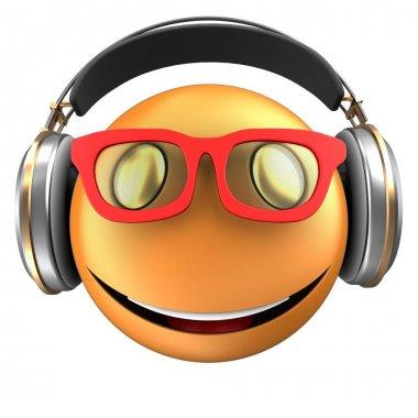 illustration of  emoticon smile
