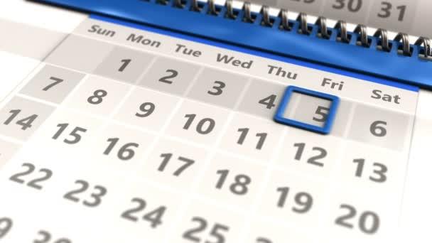Kalendářních dnů v měsíci