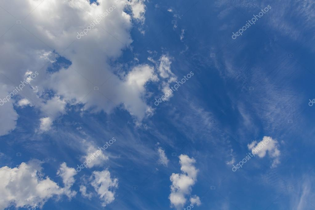 Clouds and sky view