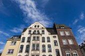 Hausfassade in Düsseldorf