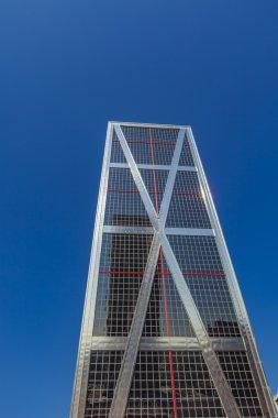 Puerta de Europa Towers in Madrid, Spain