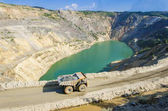 Photo Open pit and truck