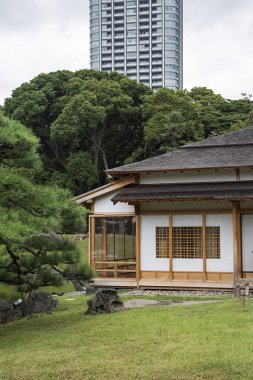 Hamarikyu Gardens in Tokyo