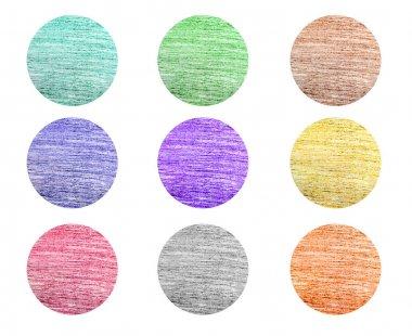 Color pencil designs set