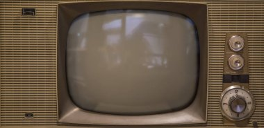 Vintage analog television