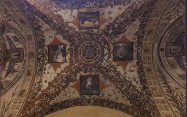 """Картина, постер, плакат, фотообои """"Palazzo Chigi Saracini in Siena"""", артикул 140066374"""